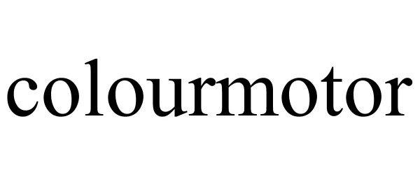 Trademark Logo COLOURMOTOR