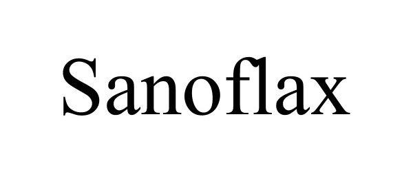 Trademark Logo SANOFLAX