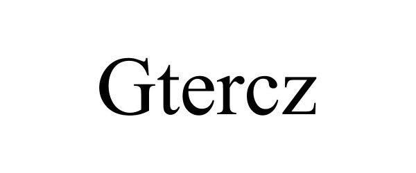 Trademark Logo GTERCZ