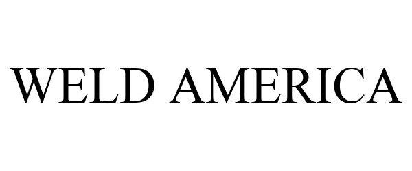 Trademark Logo WELD AMERICA