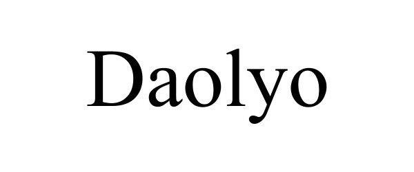 Trademark Logo DAOLYO