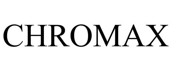 Trademark Logo CHROMAX