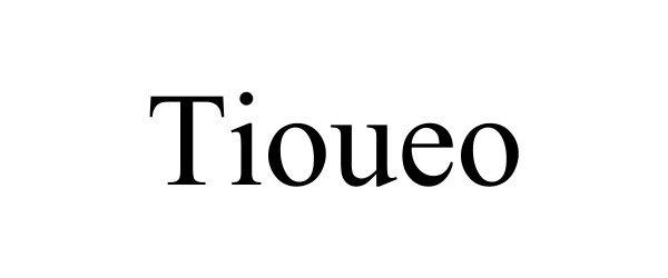 Trademark Logo TIOUEO