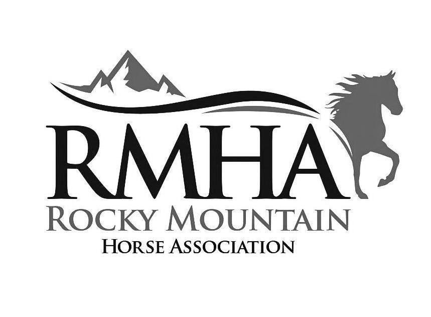 Trademark Logo RMHA ROCKY MOUNTAIN HORSE ASSOCIATION