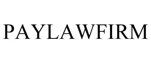 Trademark Logo PAYLAWFIRM