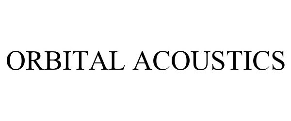 Trademark Logo ORBITAL ACOUSTICS
