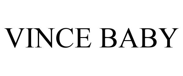 Trademark Logo VINCE BABY