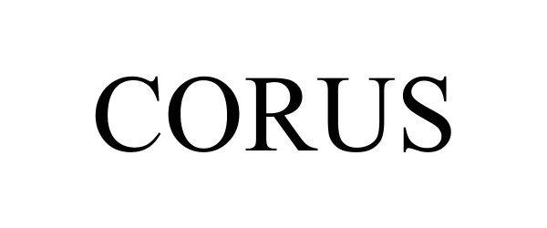 Trademark Logo CORUS