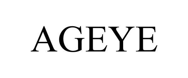 Trademark Logo AGEYE