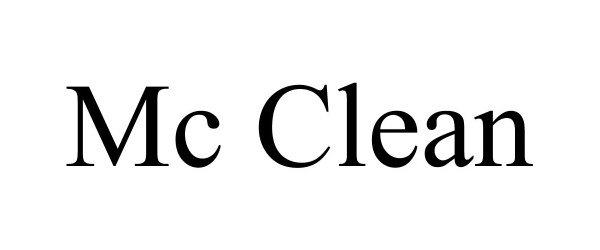 Trademark Logo MC CLEAN