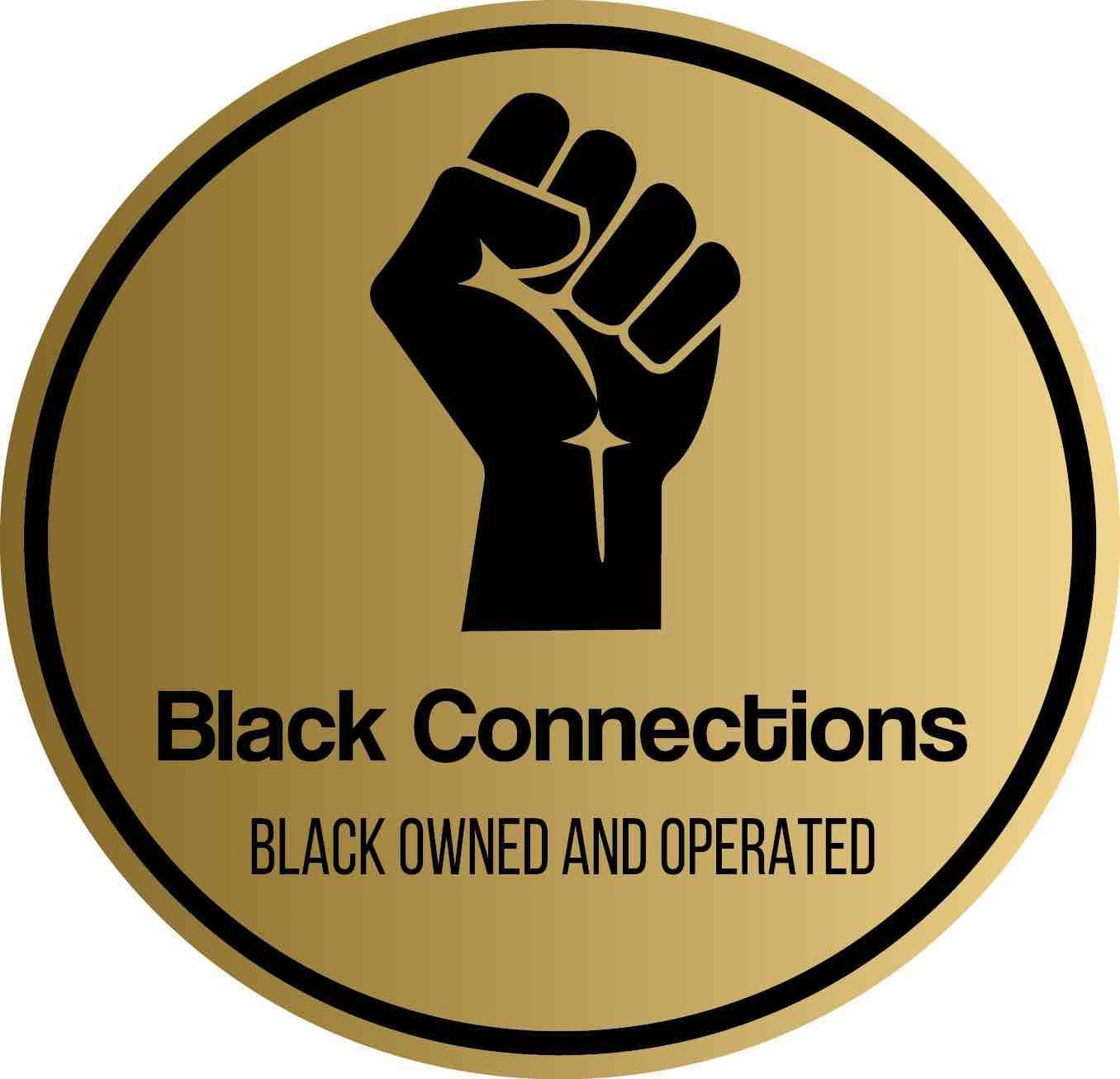 Trademark Logo BLACK CONNECTIONS, BLACK OWNED AND OPERATED,