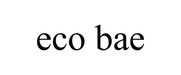 Trademark Logo ECO BAE