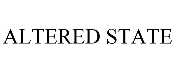 Trademark Logo ALTERED STATE
