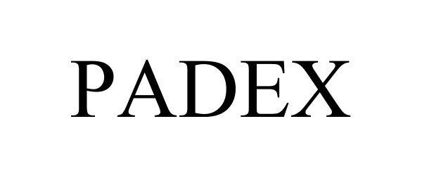 Trademark Logo PADEX
