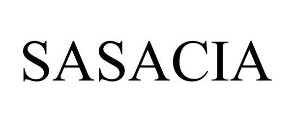 Trademark Logo SASACIA