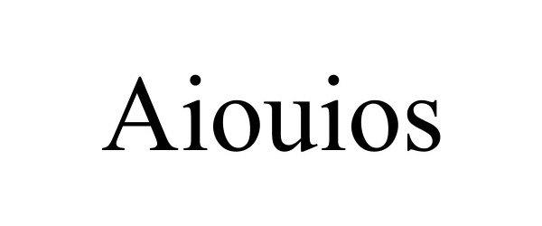 Trademark Logo AIOUIOS