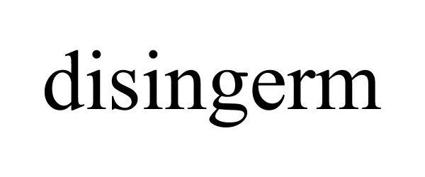 Trademark Logo DISINGERM