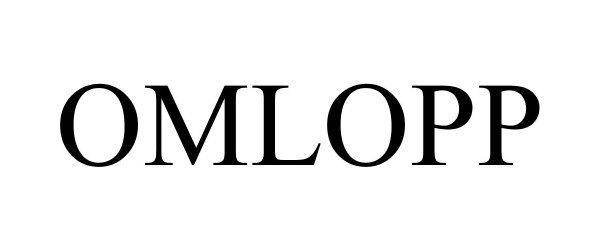 Trademark Logo OMLOPP
