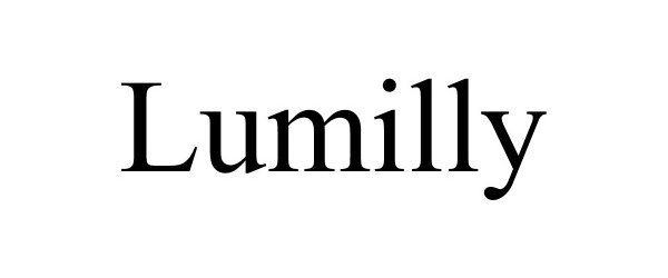 Trademark Logo LUMILLY