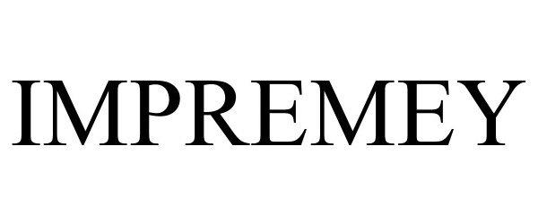 Trademark Logo IMPREMEY