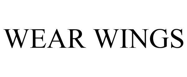 Trademark Logo WEAR WINGS