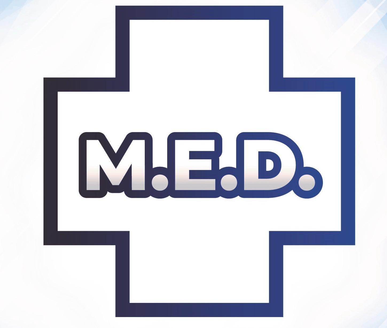 Trademark Logo M.E.D.