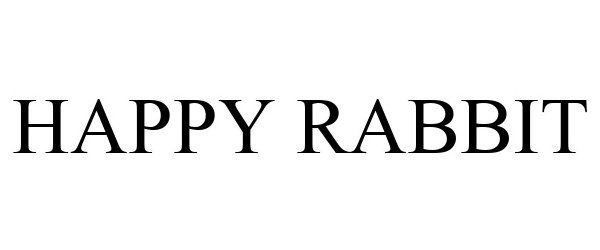Trademark Logo HAPPY RABBIT