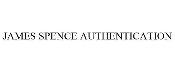 Trademark Logo JAMES SPENCE AUTHENTICATION