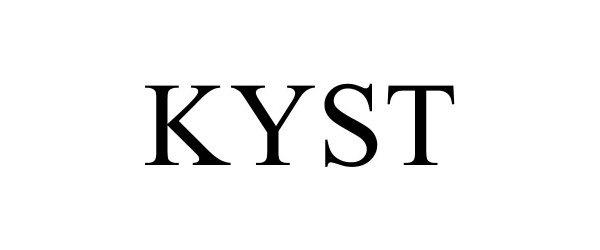 Trademark Logo KYST
