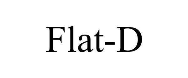 Trademark Logo FLAT-D