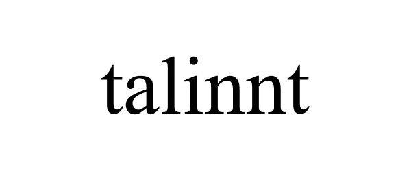 Trademark Logo TALINNT