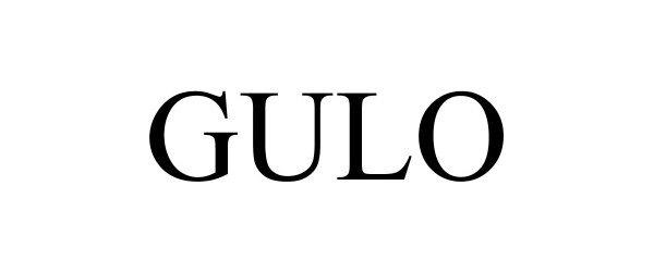 Trademark Logo GULO