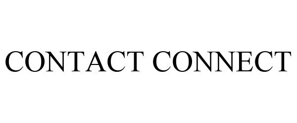 Trademark Logo CONTACT CONNECT