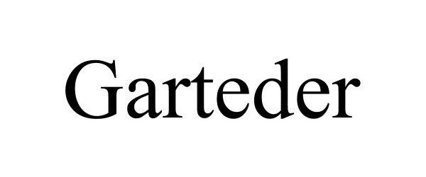 Trademark Logo GARTEDER