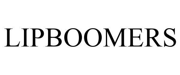 Trademark Logo LIPBOOMERS