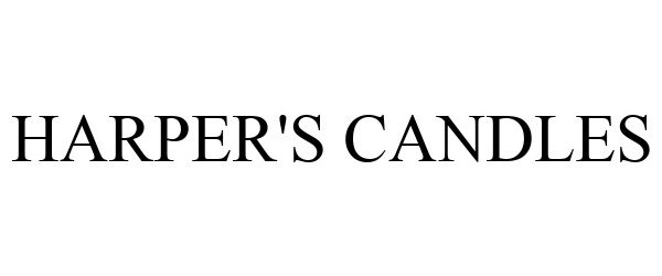 Trademark Logo HARPER'S CANDLES