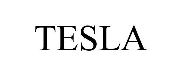Trademark Logo TESLA