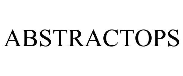 Trademark Logo ABSTRACTOPS