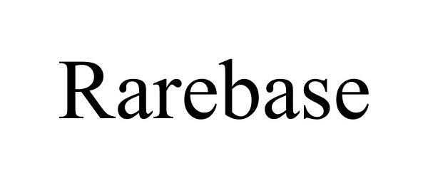 Trademark Logo RAREBASE