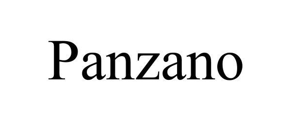 Trademark Logo PANZANO