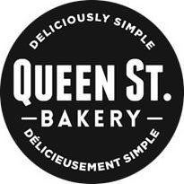 Trademark Logo QUEEN ST. BAKERY DELICIOUSLY SIMPLE DÉLICIEUSEMENT SIMPLE