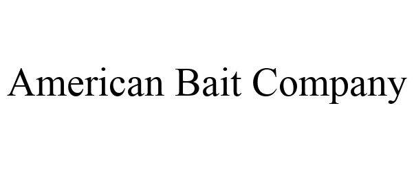 Trademark Logo AMERICAN BAIT COMPANY