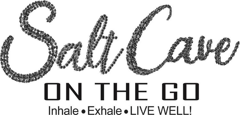 Trademark Logo SALT CAVE ON THE GO INHALE EXHALE LIVE WELL