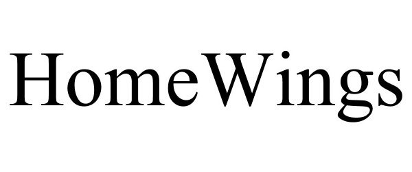 Trademark Logo HOMEWINGS
