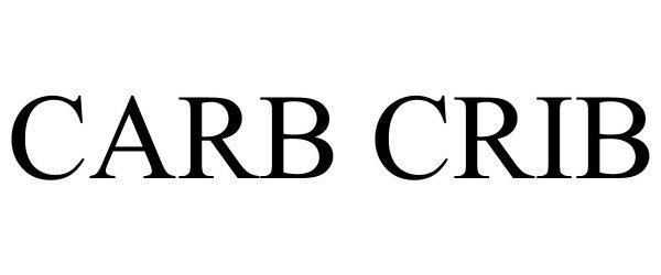 Trademark Logo CARB CRIB