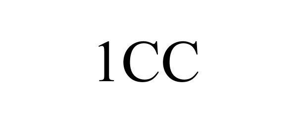 Trademark Logo 1CC