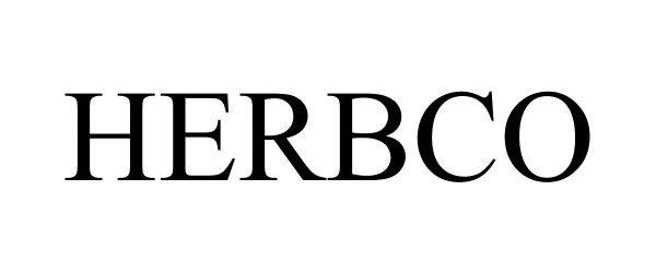 Trademark Logo HERBCO
