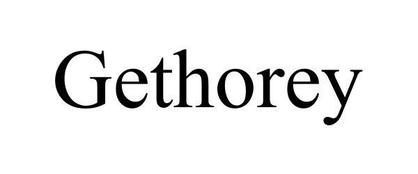 Trademark Logo GETHOREY