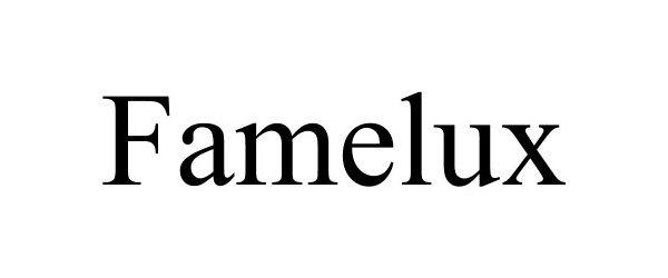 Trademark Logo FAMELUX