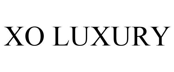 Trademark Logo XO LUXURY
